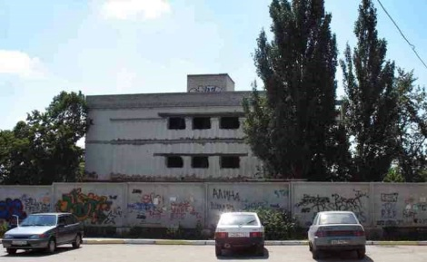 """бывший кинотеатр """"Весна"""" на ул. Гагарина"""