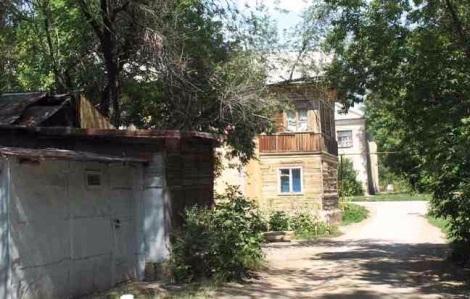 Самара. На улице Сорокина