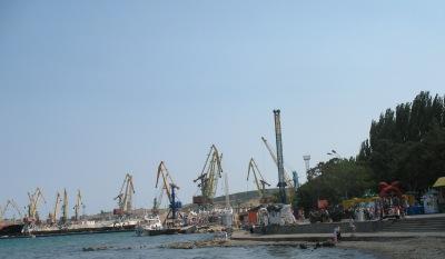 порт в Феодосии, 2007 год
