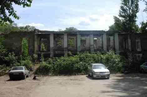 руины в центре Самары