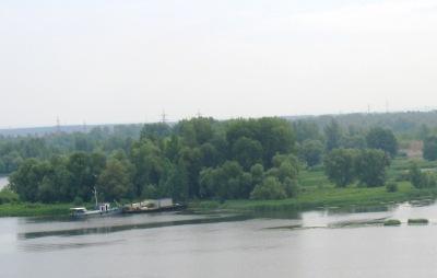 на другом берегу реки Самара