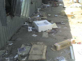 май 2008 г. Тут валялись диски, книги, винил...