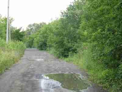 сейчас по этой дороге до Псковской трудно доехать...