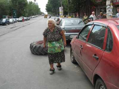 У бабули - страйк!