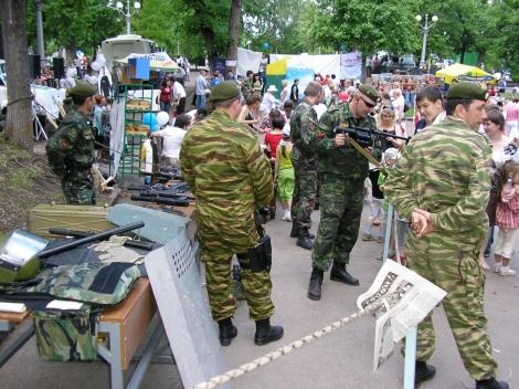 спецназ Федеральной службы исполнения наказаний Самарской области