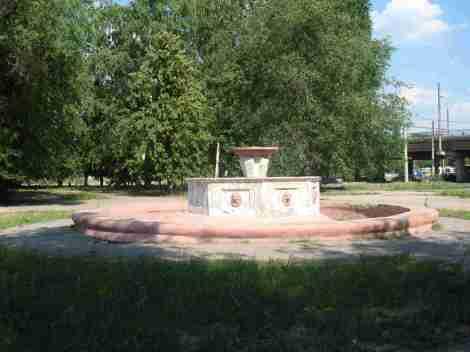 фонтан заткнули давно