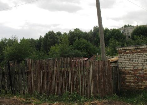 огороды и дачи вокруг домов