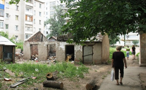 Самара, рядом с Можайским переулком
