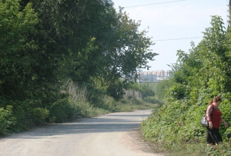 такой видится городская цивилизация от школы поселка Мясокомбинат