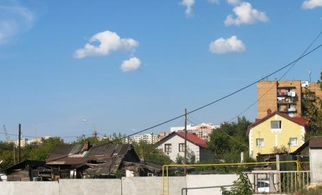 вид на ул. Индустриальную и Черновскую