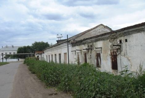 дома вокруг Тюрьмы Самары