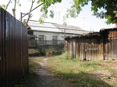 домики поселка 5 киркомбинат очень похожи на бывшие бараки