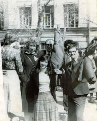 1980 гг. 1 мая у строительного института
