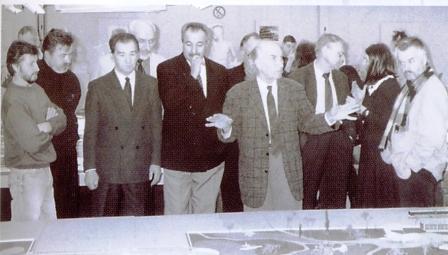 архитекторы в дизайн-центре ВАЗа