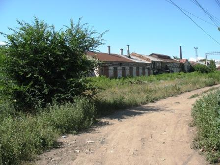 улица Затонная, слева лабазы начала XX века