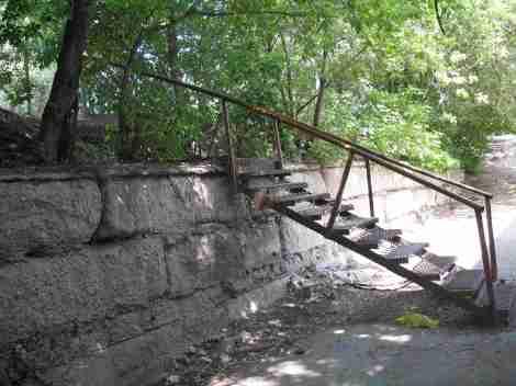 мостки из поселка на ул. Промышленности