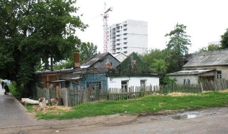 контрасты поселка