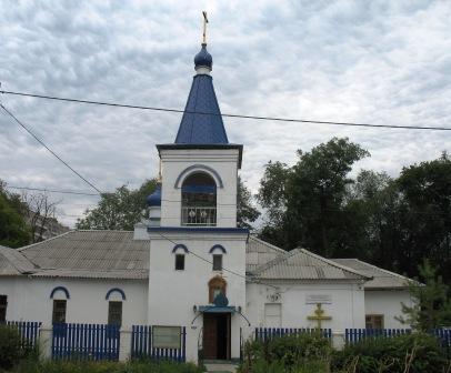 а это православный храм на ул. Бобруйской
