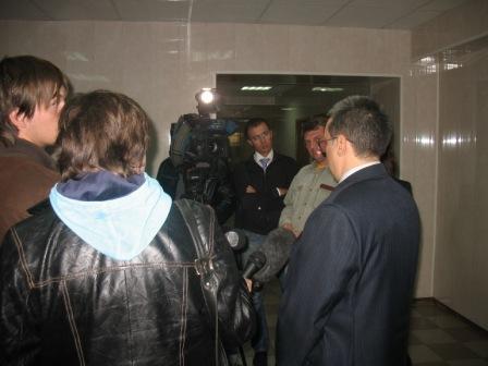 пресс-конференция Альберта Волина