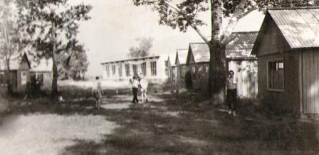спортивный лагерь строительного института
