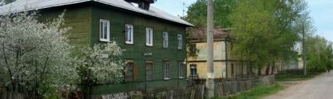 ул. Лысвенская, зеленый дом - родной дом Алексея Авдеева
