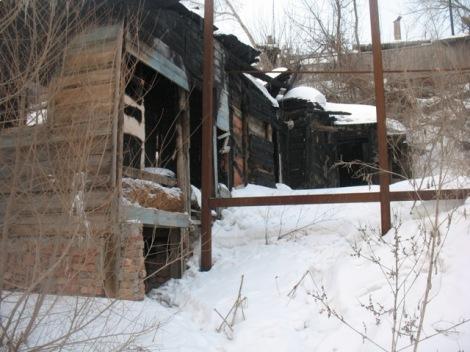 пепелища поселка Шмидта