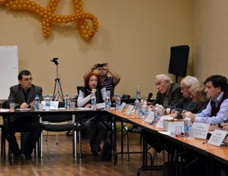 говорит Евгений Молевич , фото Нины Дюковой