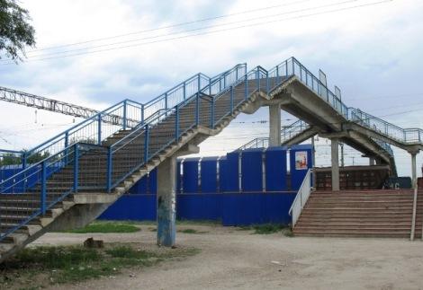 мост в Городок