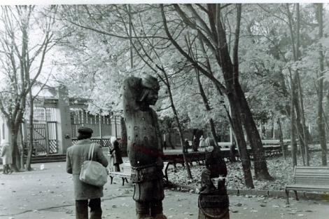 загадочные скульптуры