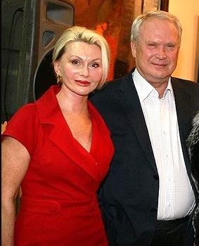 Шарапов с женой