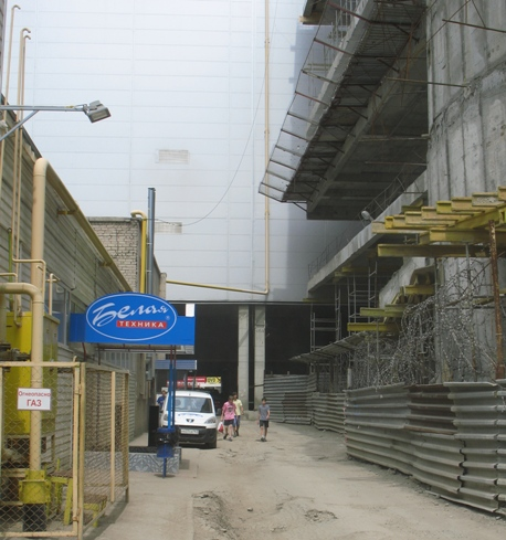 строительство Авроры опасно для окружающих