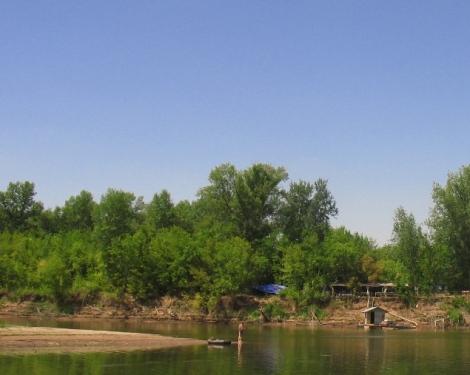 междуречье - лагерь на берегу Самарки