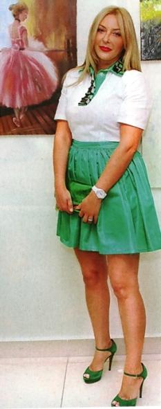 Римма Шаповалова (бывшая жена Алексея Шаповалова) Fashion Collection сентябрь 2013