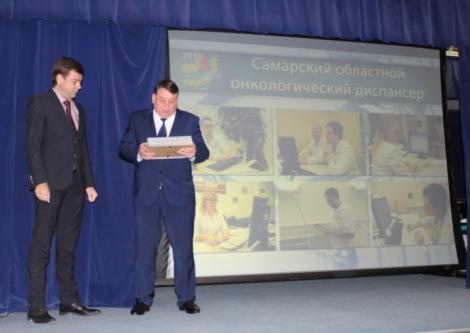 награждается Андрей Орлов - онкоцентр