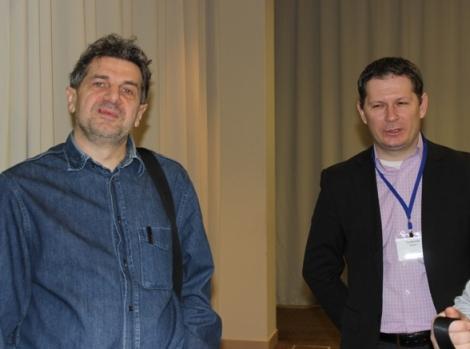 Владимир Звоновский и  Илья Трифонов