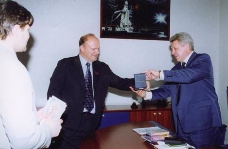 принимал Зюганова в Самаре