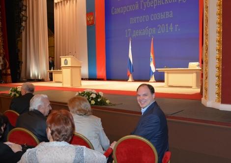 блогер и адвокат Андрей Соколов в первом ряду