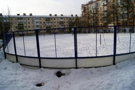 Гагарина - спортивный пейзаж