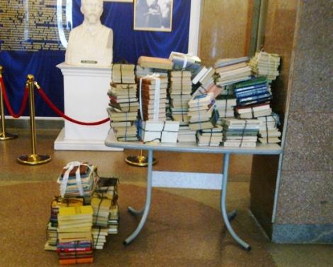 сгрузили запасы в ДК Дзержинского