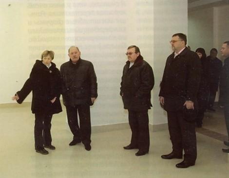 Тархов на открытии центра в Засамарской Слободе - Стариков там был на субъподряде
