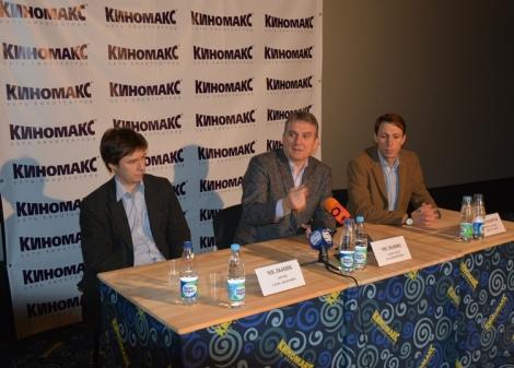 пресс-конференция после премьеры