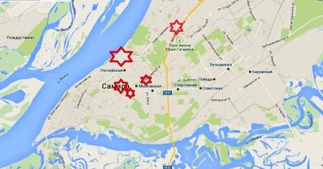 планируемые места застройки промышленных загрязненных зон