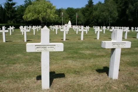 русские солдаты, погибшие за Францию