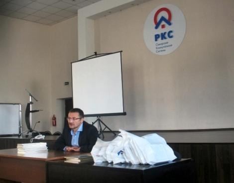 Бирюков шутя рассказал, что тот кто распоряжается водой может легко выиграть любые выборы