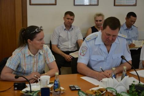 Вопрос Нины Дюковой был последним на встрече