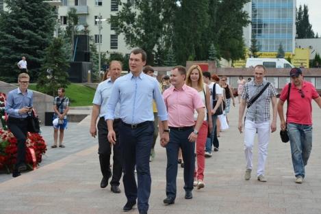 Дегтярев, Белоусов, Зелюков май 2015