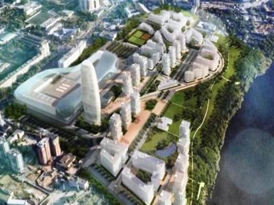 зеленая зона в плане застройки территории ЗИМа — самая реальная часть проекта, на рекультивацию остальной территории нужны сотни миллионов