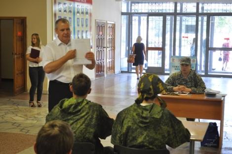 настоящие офицеры занимаются с детьми и сегодня, Алексей Родионов