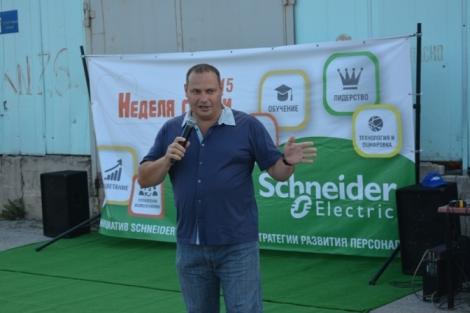 Виталий Куликов - участник еще и многих социальных проектов компании