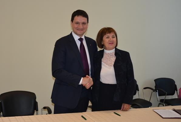 Эрик Бриссе и Наталья Шишкина